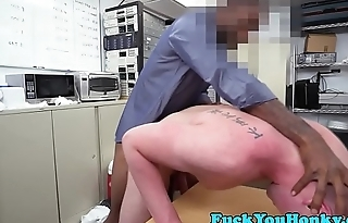 Straighty plowed by BBC during sex audition