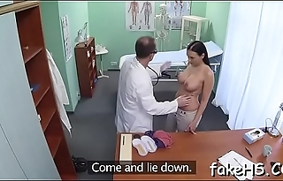 Delicious doctor gets fucked hard