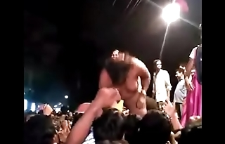 Village womens nude dance