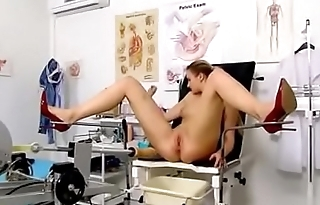 Katy Sky examinated by Old gyno