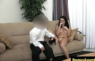 Beautiful amateur fucked by casting agent