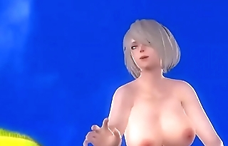 hot 3d big tits game best beach animation