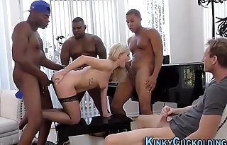 Fetish Domme Summer Day Gets Facial After BBC Gangbang