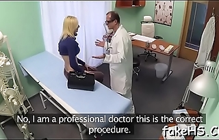 Unforgettable orgasms for a doctor