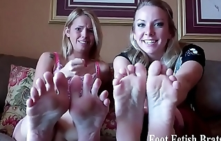 Jerk it to our perfect little feet