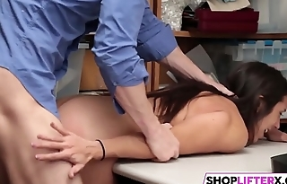 Sultry Gal Lilly Hall Gets Banged By Officer