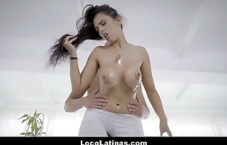 Hot Spanish Latina Big Tits And Ass Seamstress Fucked
