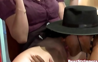 OMG my wife pussylicked by stripper