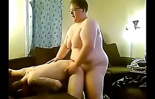Nerdy Chub breeds tight Chaser ass