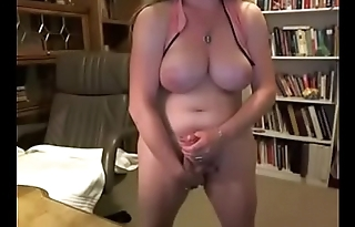 Thick Mature Shemale w/ Fat Cock and Huge Tits
