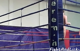 Of either sex gay babe licks pussy after wrestling